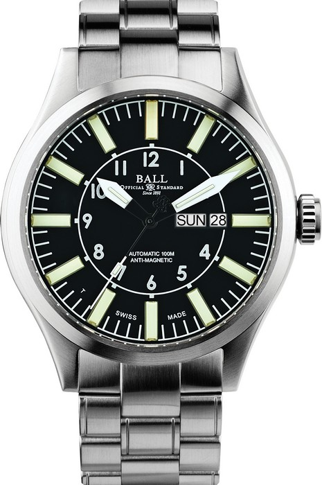 BALL AVIATOR NM1080C-S3-BK